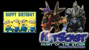 Happy Birthday HotSCast