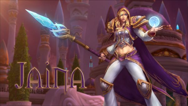 HotSCast - Heroes of the Storm Jaina Proudmoore New Hero