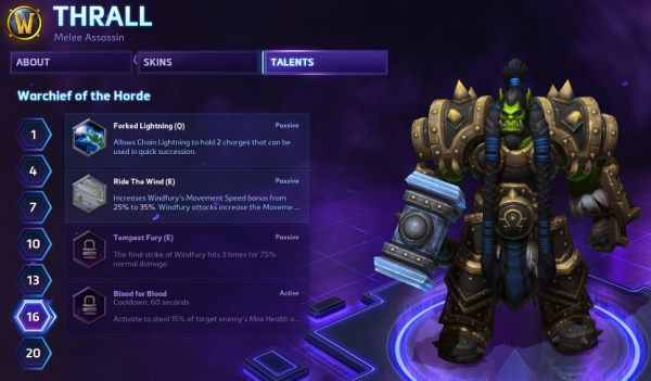 HotSCast Thrall Heroes of the Storm Closed Beta