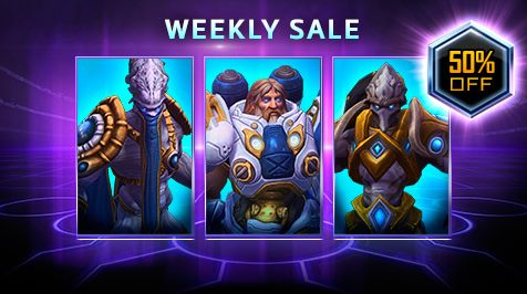 HotSCast Heroes of the Storm Weekly Sale