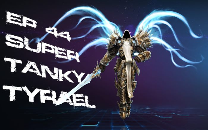 HotSCast Heroes of the Storm Tyrael Episode 44 Super Tanky Tyrael