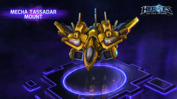 HotSCast Mecha Tassadar Mount Heroes of the Storm