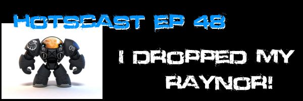 HotSCast Ep 48 I Dropped My Raynor Heroes of the Storm