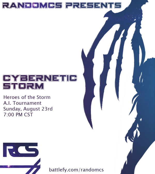 Cybernetic Storm Heroes of the Storm AI Tournament by RandomCS